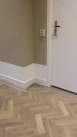 Visgraat vloer PVC
